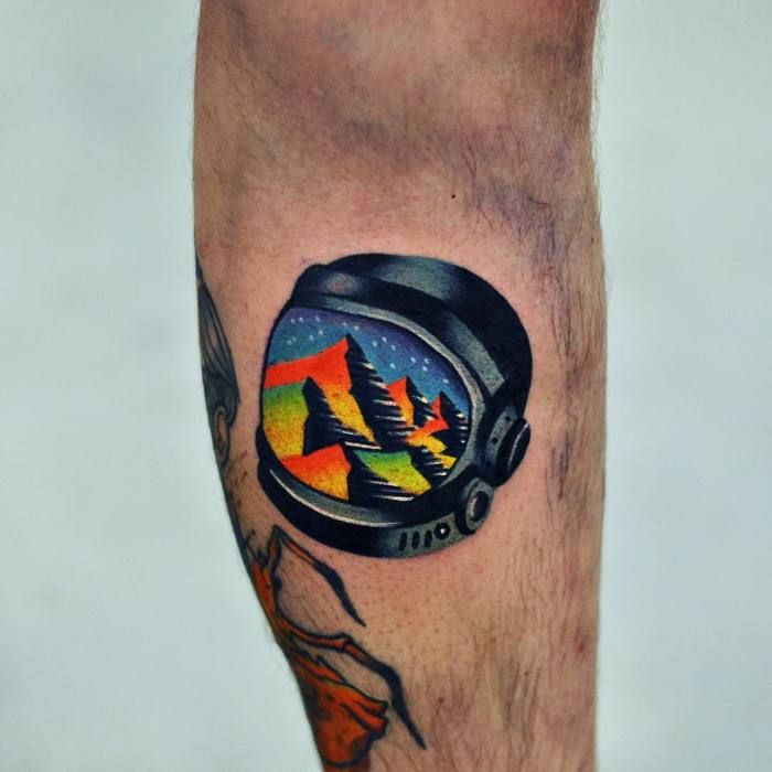 david cote s psychedelic tattoos are inspired by his dreams psychedelic tattoos psychedelic. Black Bedroom Furniture Sets. Home Design Ideas