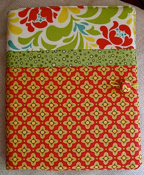 cover a notebook, great gift idea and something to do with old fabric scraps.