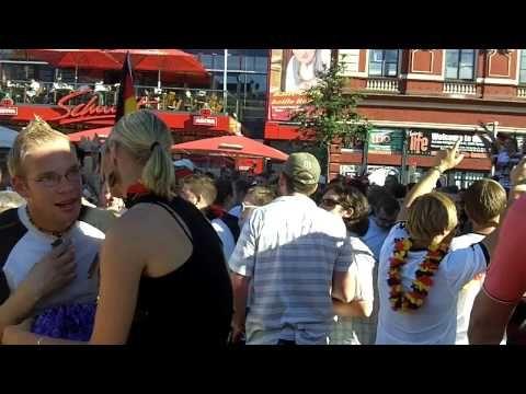Public Viewing Hamburg zur Euro 2016