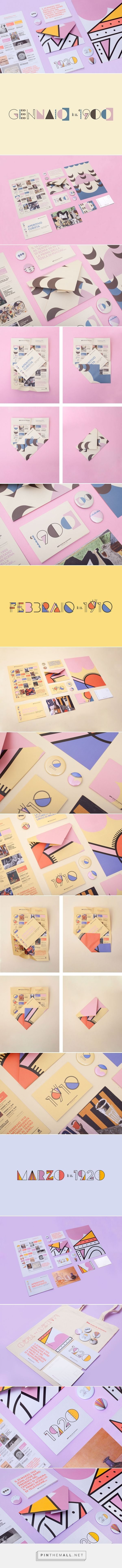 Museo del 900 Yearly Programme Branding by Alice Donadoni | Fivestar Branding Agency – Design and Branding Agency & Inspiration Gallery