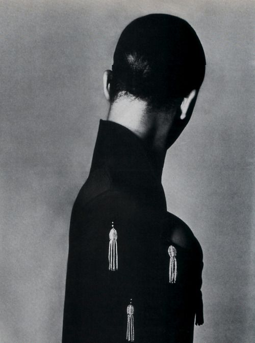 Rifat Ozbek, American Vogue, September 1987. Photograph by Steven Meisel.