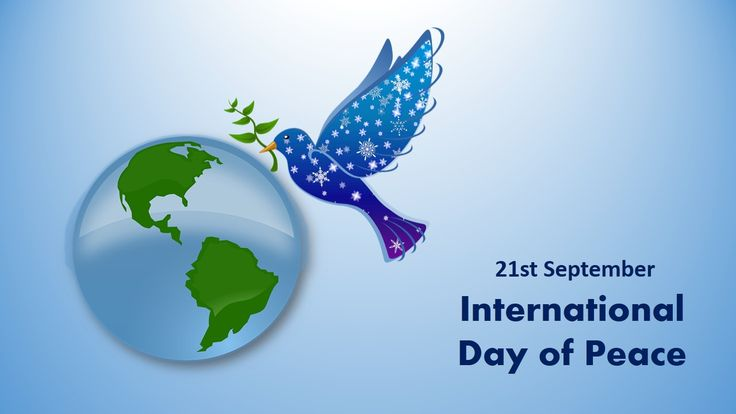 21 September - International Day of Peace  #internationaldayofpeace