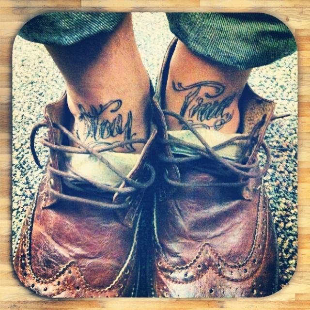 Stay true My new ink...