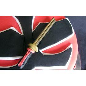 power rangers samurai birthday cake | Seraphic Cakes: Power Rangers Samurai Cake