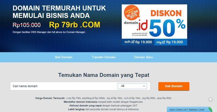 #DomainTermurah #DomainPalingMurah #DomainTerbaik #Niagahoster