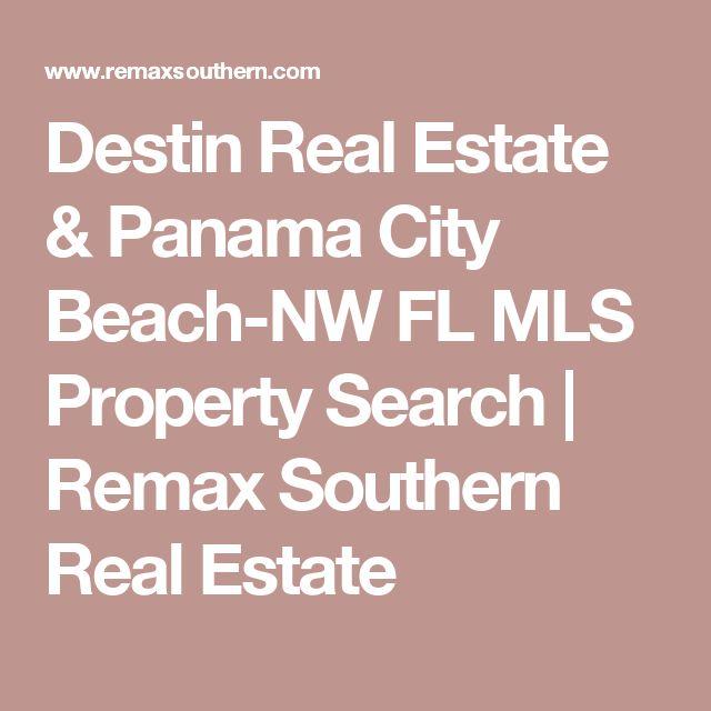 Destin Real Estate & Panama City Beach-NW FL MLS Property Search | Remax Southern Real Estate