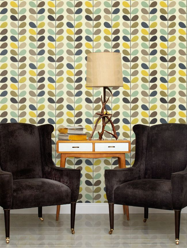Multi Stem Orla Kiely Wallpapers by Orla Kiely http://www.wallpaperdirect.com/products/orla-kiely/multi-stem/94270