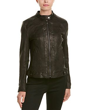 Leather jackets should be unzipped. Rue La La — It's Leather ...