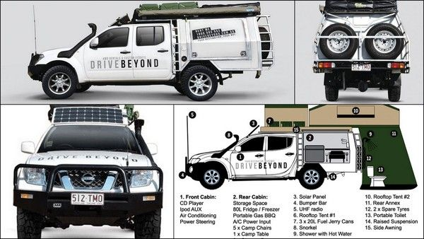 Cool Expedition Camping  Hiker Trailers Extreme Expedition OffRoad