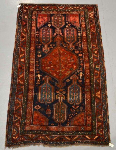 Lot 2019. Shikli Kazak rug, south west Caucasus, 20th century. Carpets, Rugs & Textiles at Netherhampton Salerooms 2 October 2013.
