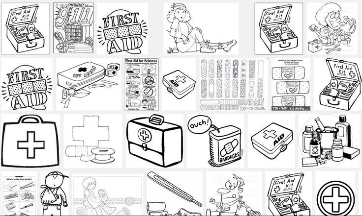 107 best kid 39 s first aid images on pinterest coloring