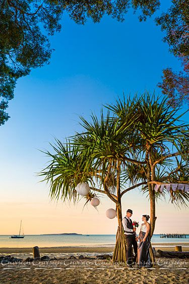 Sunset Beach, Kingfisher Bay Resort, Fraser Island!   #kingfisherbay #fraserisland #destinationwedding #fraserislandwedding #fraserwedding http://www.fraserislandweddings.com.au/