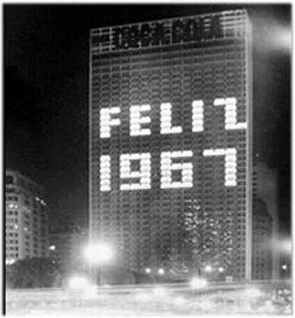 Dezembro de 1966 - Edifício Zarzur & Kogan, no Vale do Anhangabau.