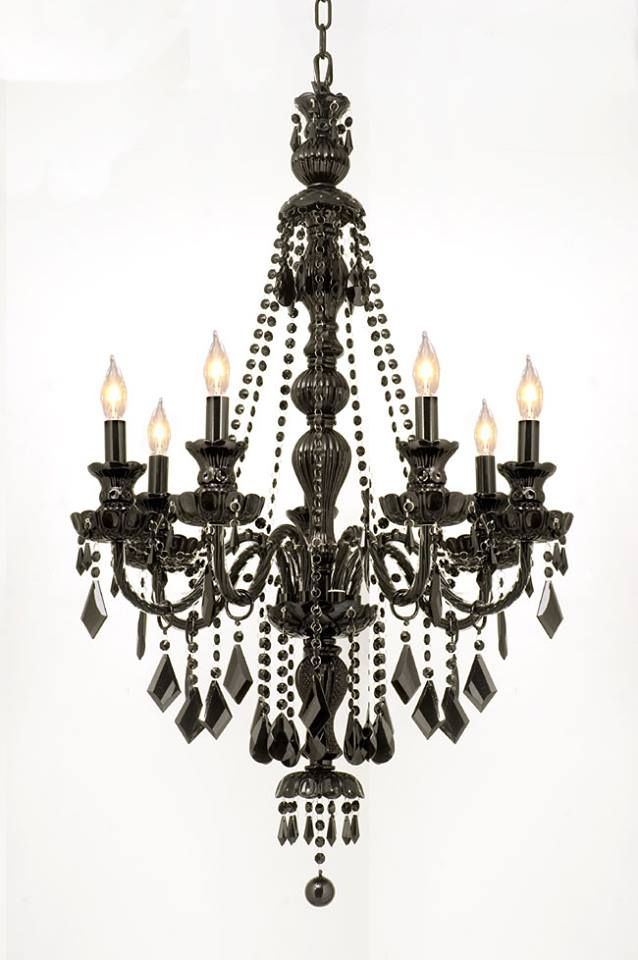 Http Chandeliers A Black Chandelier Wedding Al