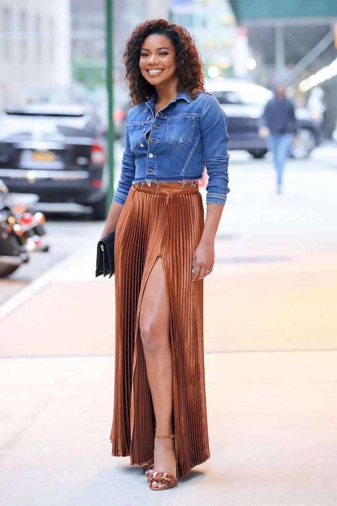 Gabrielle Union Wore the $50 Skirt That Always Gets Compliments