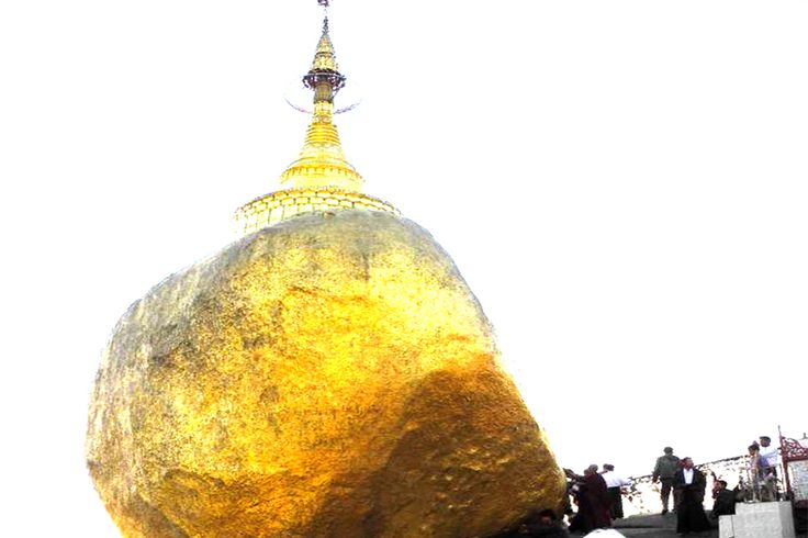 Know as one of the world's eight major rocks, The Golden Rock is a well-known Buddhist pilgrimage site in #MonState, Burma. A small pagoda named Kyaikhtiyo Pagoda (7.3metres) was builted on the top of the Golden Rock. According to legend, there're a strand of Buddha's hair in it. #Odyssey #Tour #Burma #Myanmar #Rock #Golden #BuddhistPilgrimage #Worship