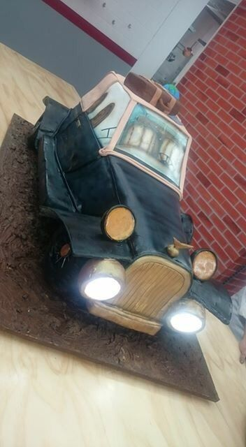 Cake Boss Car Wash Cake