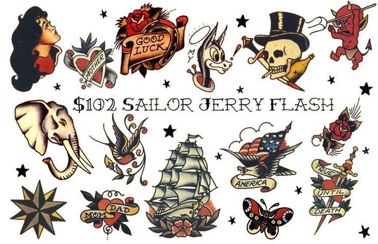 35 best Sailor Jerry Vintage Tattoo Flash images on Pinterest