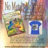 Autographed Unicorn Picture Book and Tee Shirt Giveaway  Open to: United States Ending on: 01/30/2018 Enter for a chance to win an autographed soft-back copy of Unicorns From UnimaiseThe Magical Metal-Horn Tribe picture book for the little ones. Winner will also receive a tee shirt (their choice from any on zazzle.com Journey To Osm Collection) with an image of a unicorn from the []  Enter the Autographed Unicorn Picture Book and Tee Shirt Giveaway on Giveaway Promote.