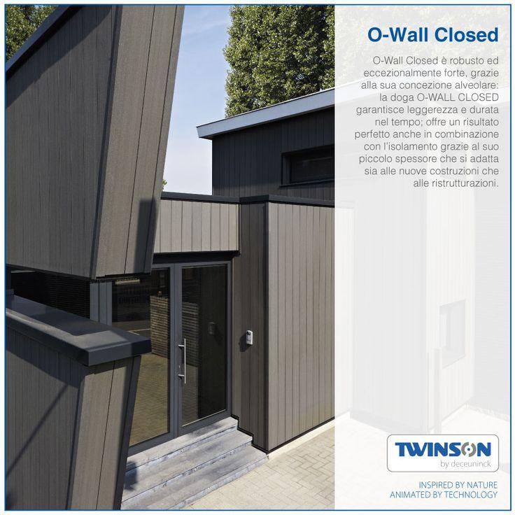 Twinson O Wall Closed è Robusto Ed Eccezionalmente Forte Grazie Alla Sua  Concezione Alveolare: La Doga O WALL CLOSED Garantisce Leggerezza E Durata  Nel ...