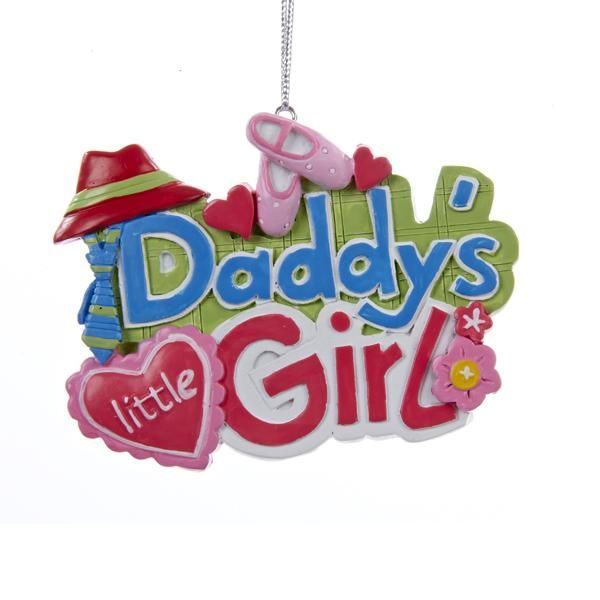 Daddy's Little Girl Ornament