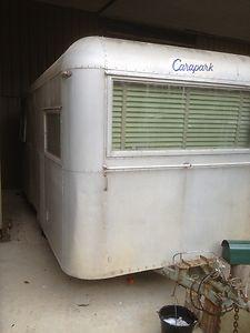 Vintage Caravan Carapark Late 50's