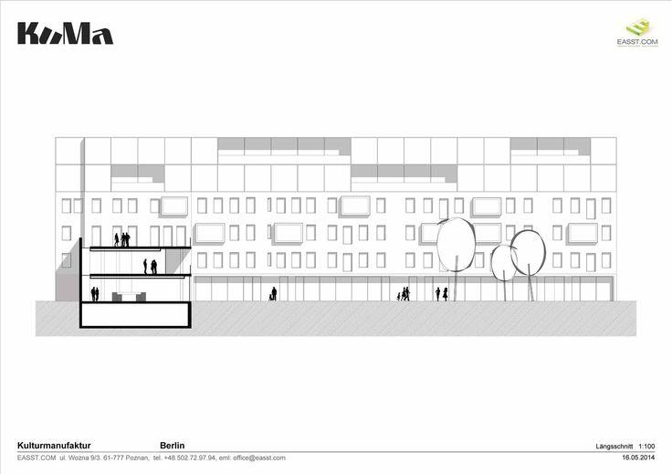 Kuma / Section 01 / Plans / Cultural Center, Berlin, Germany