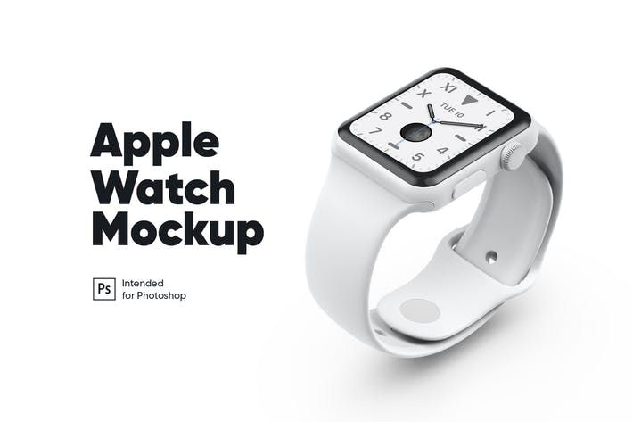 Apple Watch White Ceramic Mockup By Kavoon On Envato Elements Apple Watch White Apple Watch Mock Up Design