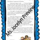 Welcome letter for Speech Families! Modifiable to personalize for your families.  Enjoy! -Ms. Jocelyn  This work is licensed under a Creative Commo...