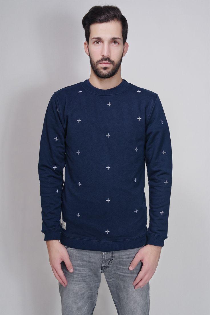 LE LEGIONNAIRE - PLUZ SWEAT NAVY #fashion #sweat #sweatshirt #men #le_legionnaire