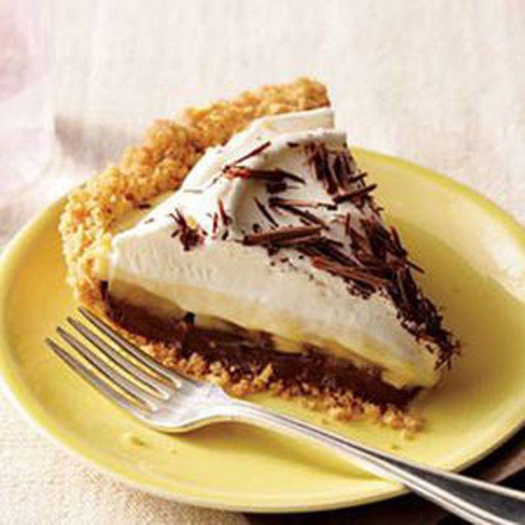 Black-Bottom Banana Cream Pie - Rachael Ray Every Day