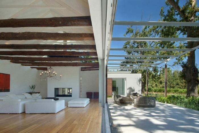A Barn and Two Verandas: Indoor/Outdoor Living in South Africa