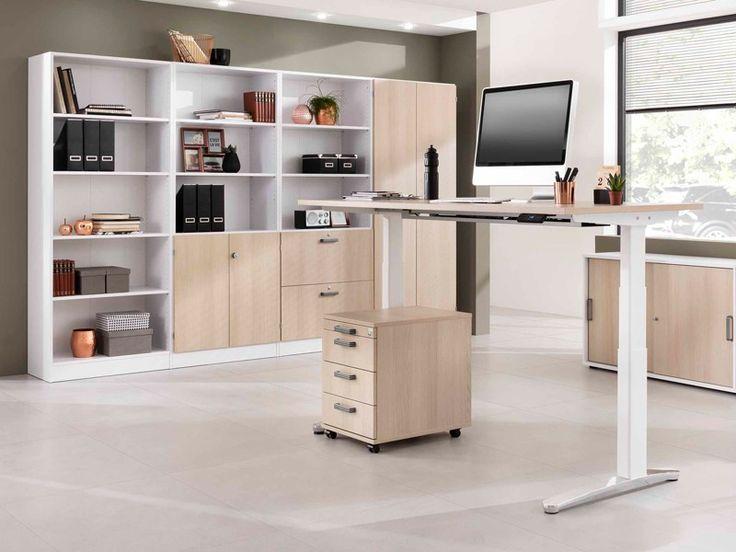 Höhenverstellbarer Schreibtisch Hammerbacher VXBHM