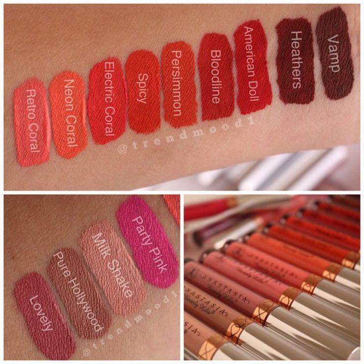 New ABH liquid lipsticks.   Abh liquid lipstick, Lipstick