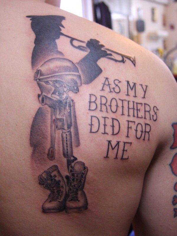 British army tattoo quotes images for Tattoos in the british army