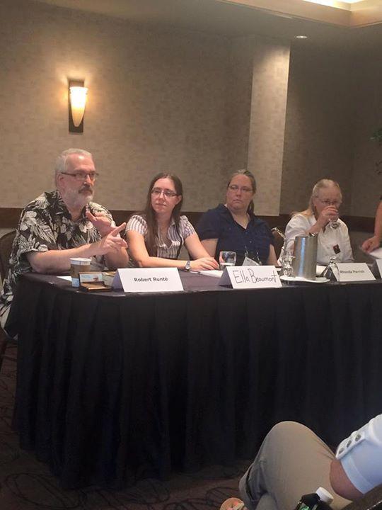 Senior Editor, Robert Runté, on Live Action Slush panel at WWC 2015.