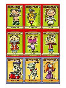 Le jeu des 7 familles d'halloween pour enfants sur HugoLescargot.com
