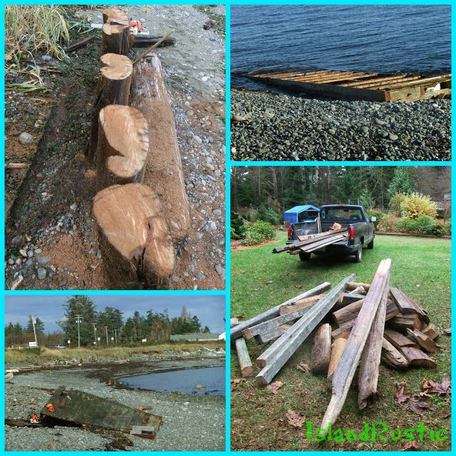 Island Rustic: Beach Combing... for landscaping and fencing projject