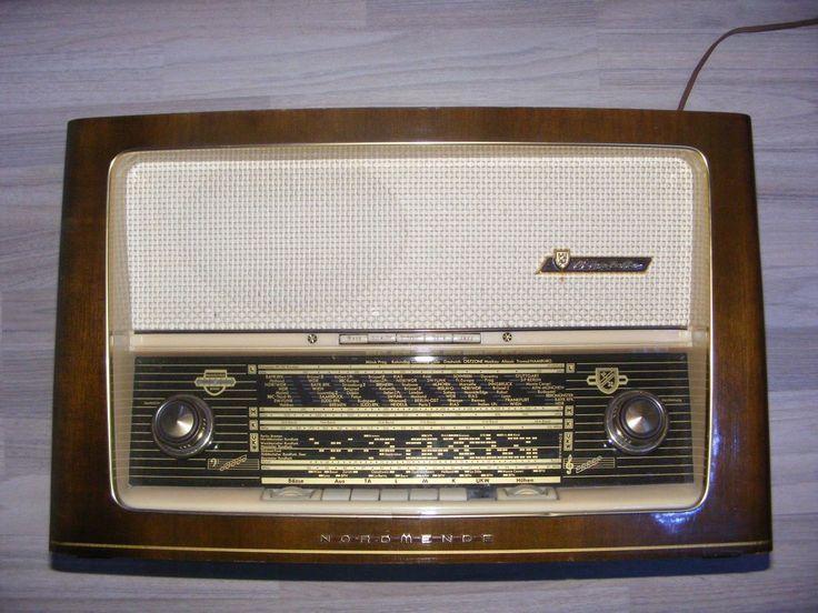 Historisches Röhrenradio Nordmende Rigoletto 58 | eBay