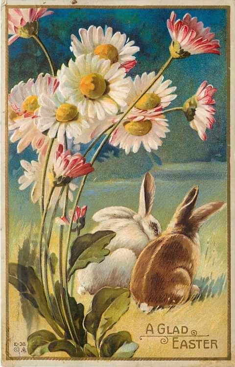 antique Easter postcard                                                                                                                                                     More