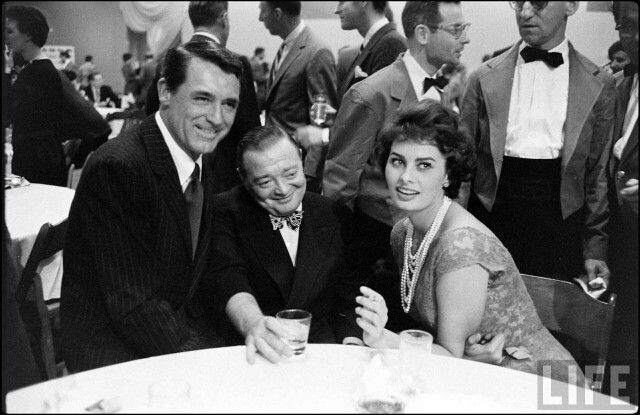 Sophia with Cary Grant
