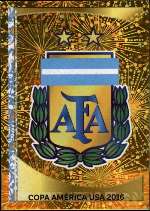 2016 Panini Copa America Centenario Stickers #302 Argentina Logo Foil