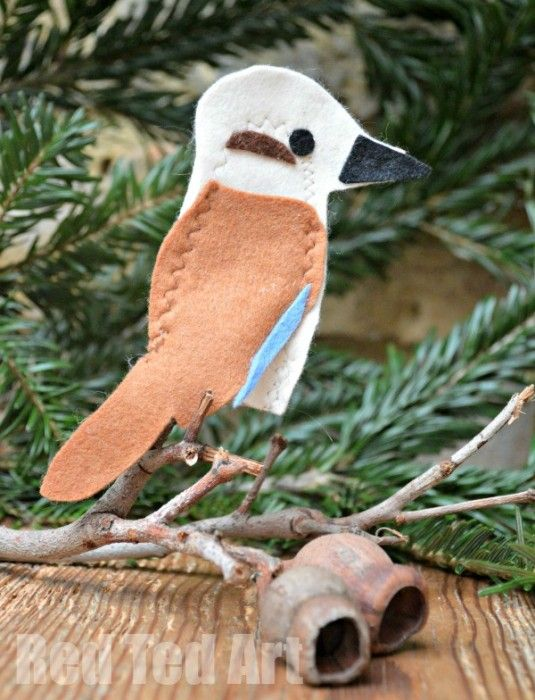 Kookaburra Finger Puppet craft - perfect to go with the fabulous Kookaburra Song - Nursery Rhymes and Songs for Australian Kids