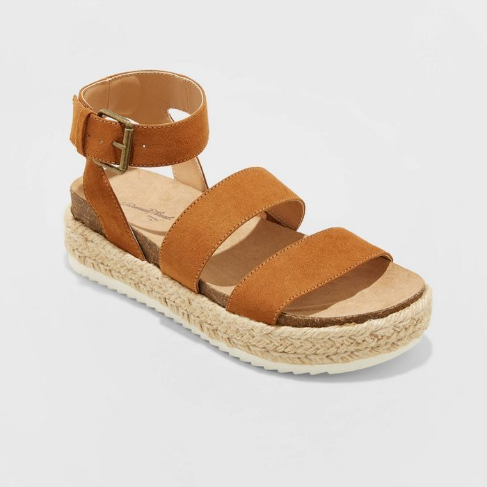 Platform espadrille sandals, Platform