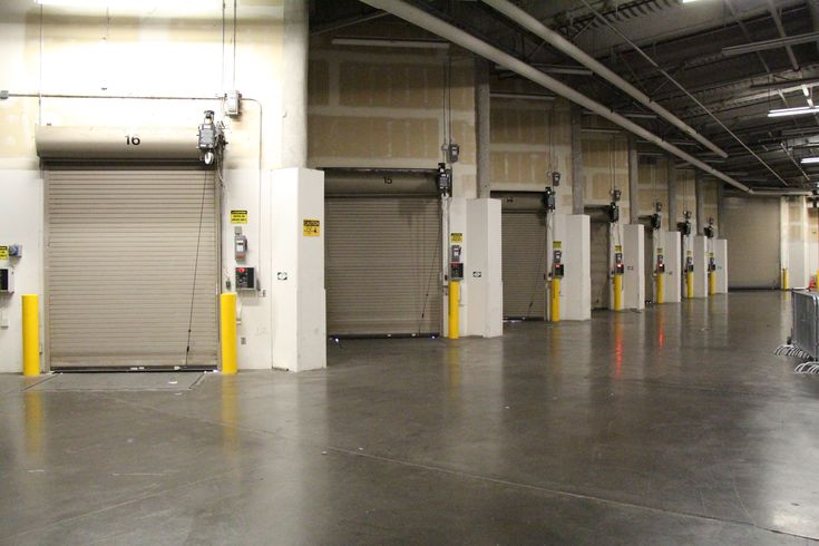 The Interior Loading Dock Offers Ample Area For Unloading