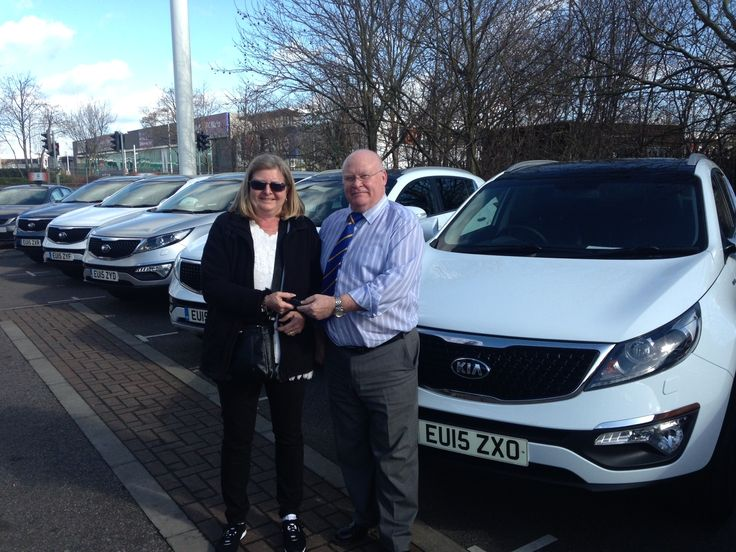 Marian Manning collected one of our new #15Plate Kia Sportage SUVs. Clearly a very popular vehicle!