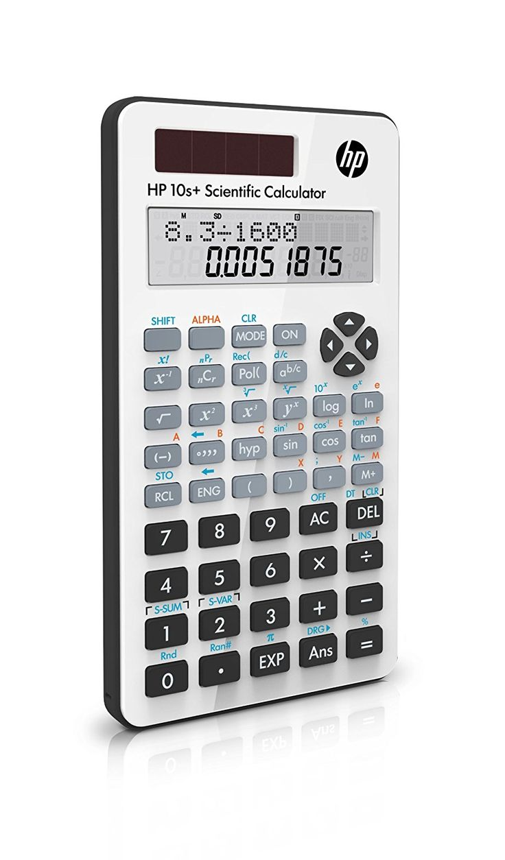 Hewlett Packard HP 10S SCIENTIFIC CALCULATOR white: Amazon.co.uk: Office Products