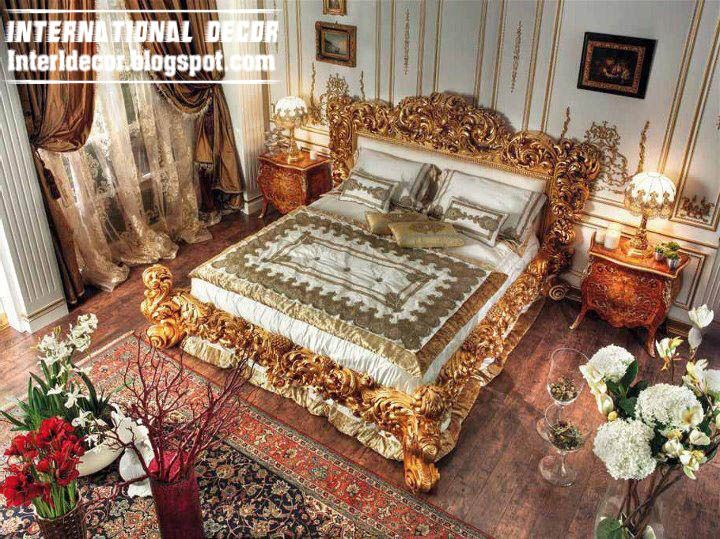 Luxury italy beds ancient italian beds furniture for Four decor international srl