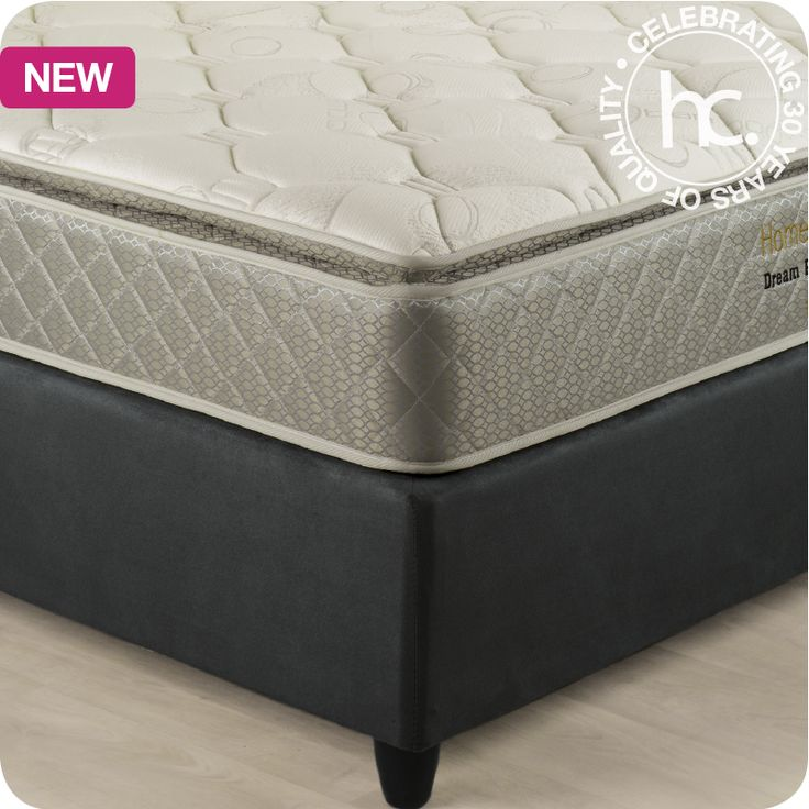 Dream Pillow Top mattress and base set From R2999 cash or R299 p/m  Shop now >> http://www.homechoice.co.za/Furniture/mattresses-base-sets/Dream-Pillow-Top.aspx?utm_source=April2015-social_media_Pinterest_post_furniture&utm_medium=pinterest&utm_campaign=pinterest-post_furniture&dreampillowtop