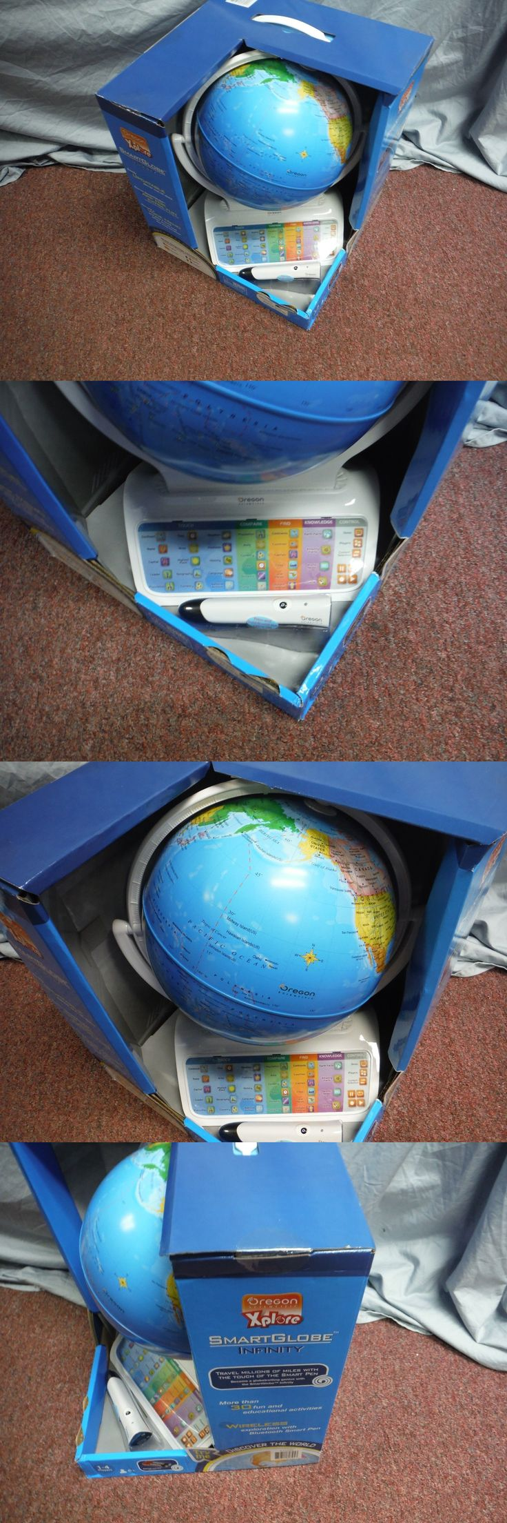 Geography and History 11733: Brand New Oregon Scientific Xplore Smart Globe Infinity With Wireless Pen -> BUY IT NOW ONLY: $66.46 on eBay!